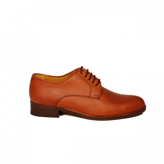 Zapato hombre 254-01 Ternera Avellana