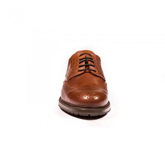 Zapato hombre suela comfort Light ZAP 1 Vaqueta Sol