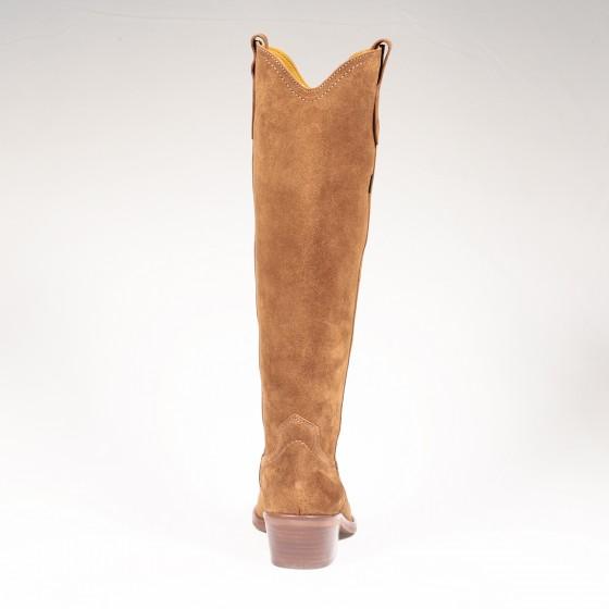 Bota alta cowboy mujer DKT 60 L Capuccino