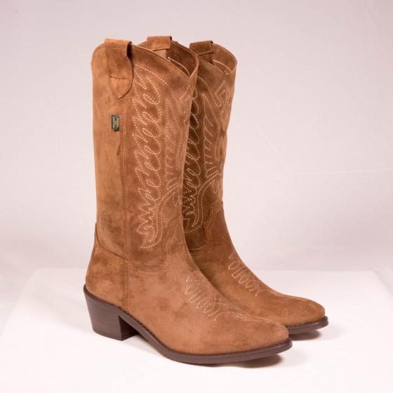 Bota campera mujer cowboy...