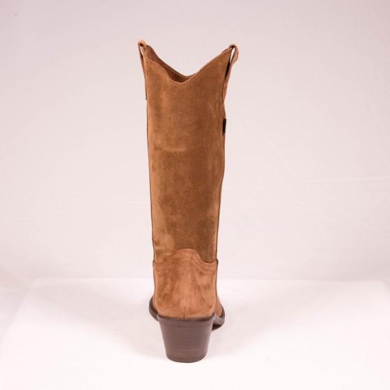 Bota campera mujer cowboy DKT 49-3 Capuccino