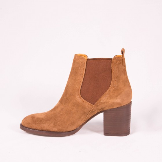 Bota Chelsea mujer DKT 5  Capuccino