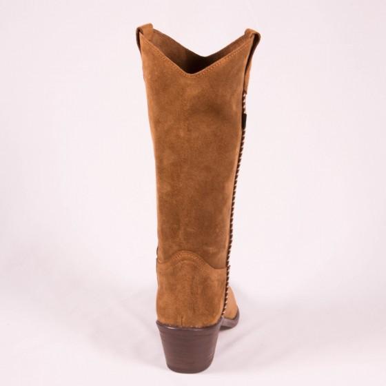 Bota campera mujer cowboy DKT 49-2 Capuccino