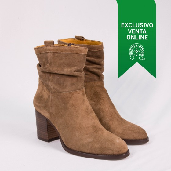 Botín campero DKT 15 Taupe