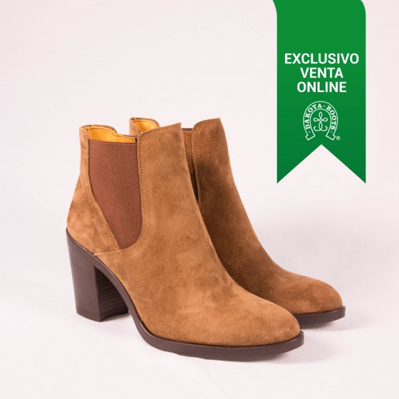 Bota Chelsea mujer DKT 26 Capuccino